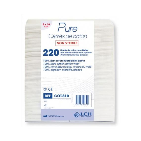 Coton rectangle 8x10cm
