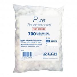 Coton hydrophile / Cart. x 18 sachets x 700 boules