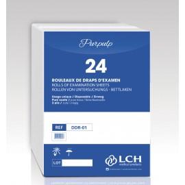 Drap Examen Demi Format 25x38cm 52,9m / Cart x 24 rlx
